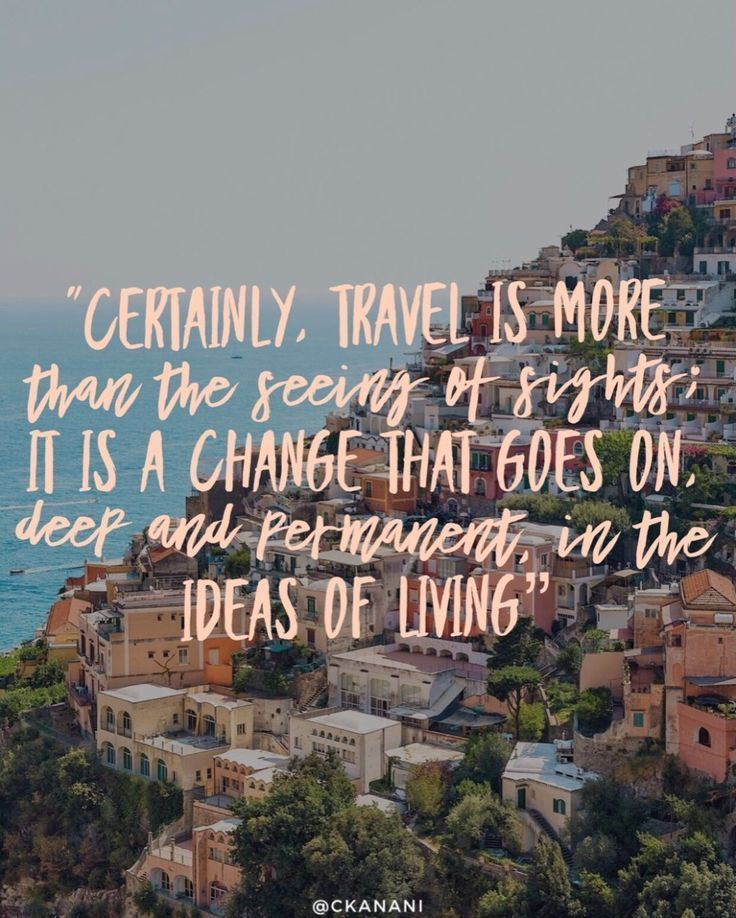 13 Travel Quotes To Inspire Your Next Trip #travelquotes Better get packin'!