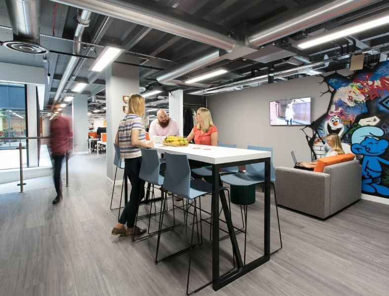 Cool office bristol breakout space office design for Office design bristol
