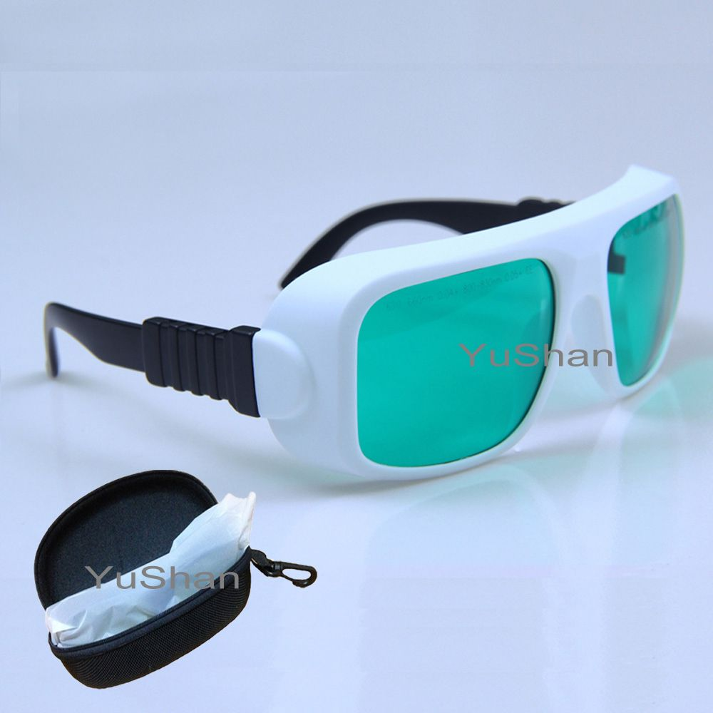 635nm 808nm laser protective goggles used in red and