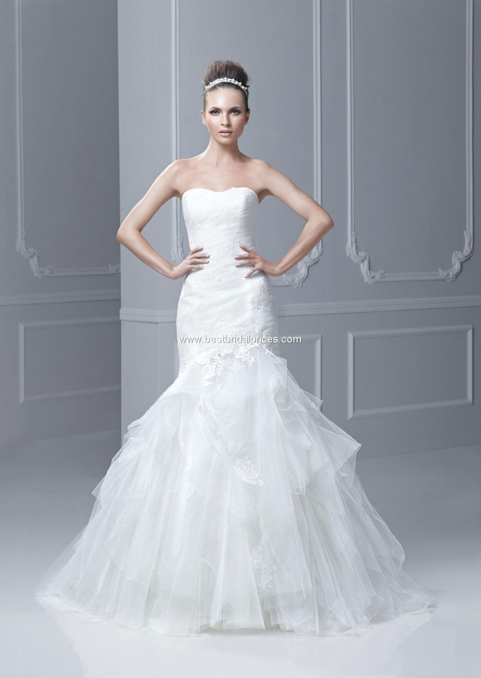 Blue by Enzoani Wedding Dresses - Style Fairyland #enzoani #wedding ...