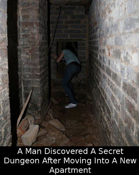 Did You Know That A Man Discovered A Secret Dungeon After