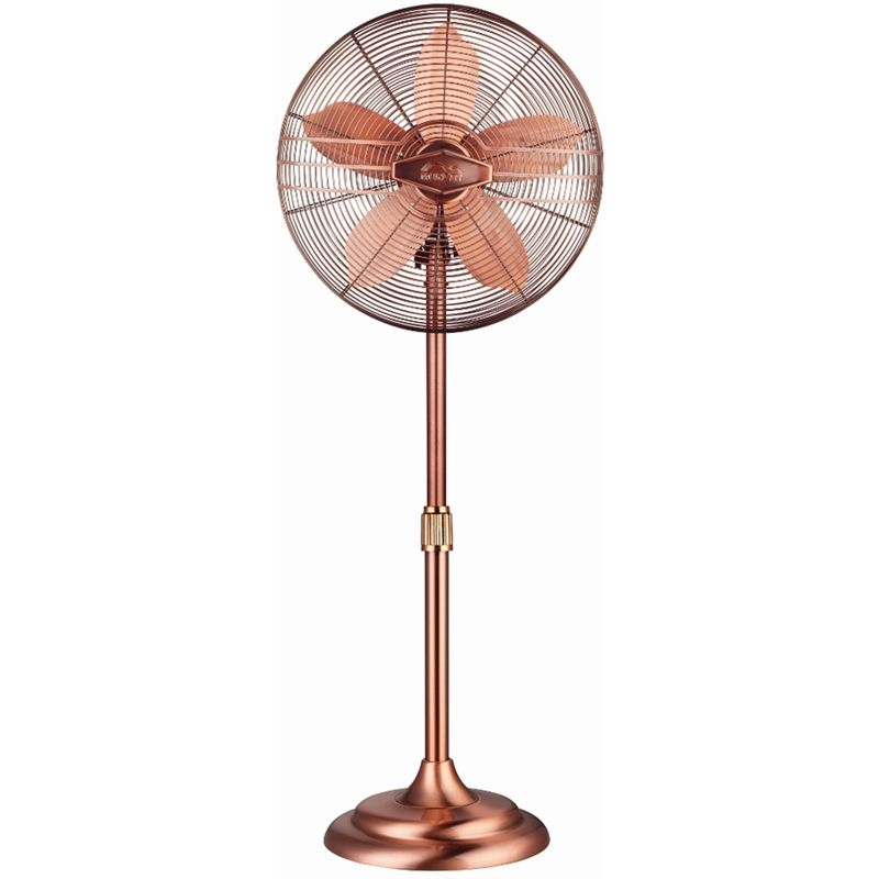 Find Moretti 40cm Pedestal Fan Retro Copper At Bunnings Warehouse Visit Your Local For