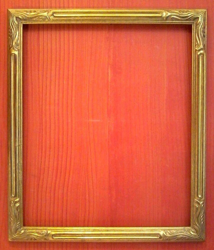 Standard 20 x 24 art nouveau picture frame carved gold leaf all standard 20 x 24 art nouveau picture frame carved gold leaf all wood 2 wide jeuxipadfo Choice Image