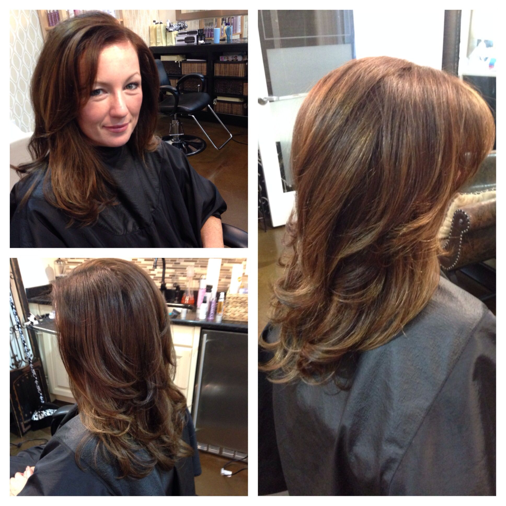 Base Colorombrehighlightstreatmentblowout By Lezlie Price At Z