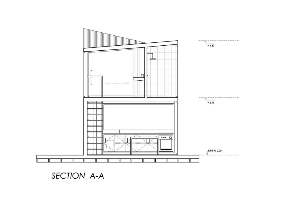 Gallery A Surf Shack Cabin For Two Brothers Wmr Arquitectos Surf Shack Small House Design Cabin