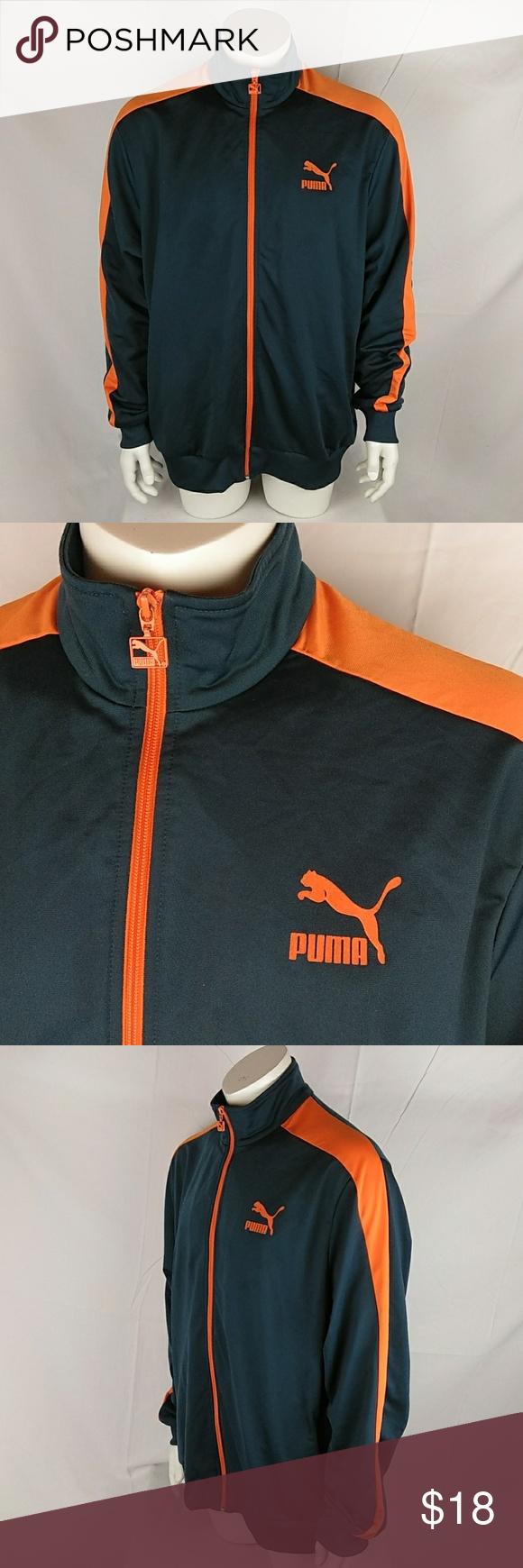 Puma T7 Track Jacket Fleece Full Zip Xxl Jackets Track Jackets Puma Jackets [ 1740 x 580 Pixel ]