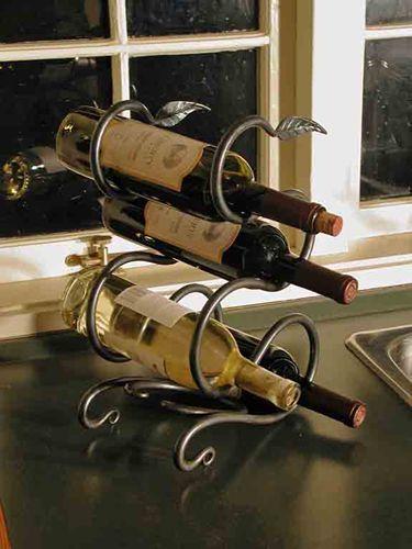 Countertop Wine Rack Google Search Soportes Para Botellas De