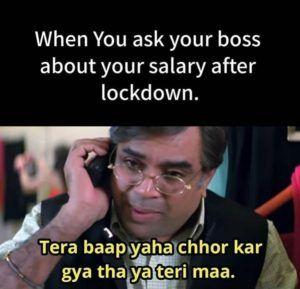 Asking Your Boss For Salary During Lockdown in 2020 ...