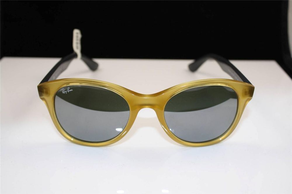 78e6b2cba2 NEW AUTHENTIC RAY BAN RB 4203 6043 40 OPALINE YELLOW SUNGLASSES  RayBan   RB4203604340