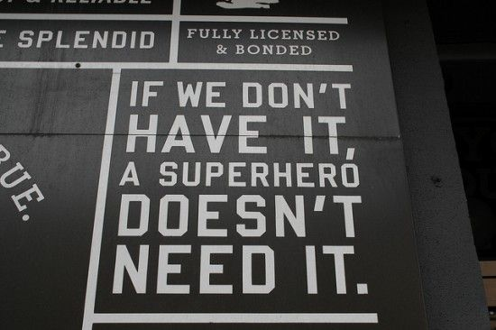 Brooklyn's Superhero Supply Shop, No Villains Allowed