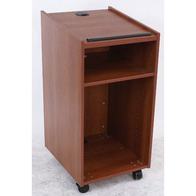 Paragon Furniture Full Podium Melamine Top Finish: