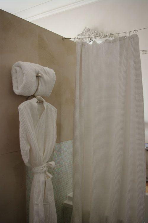 Enduit à la chaux COLOR RARE  - enduit salle de bain