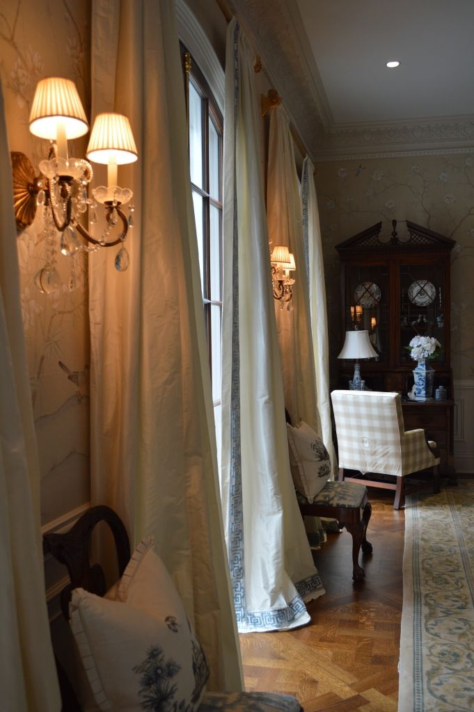 About Those Dining Room Drapes