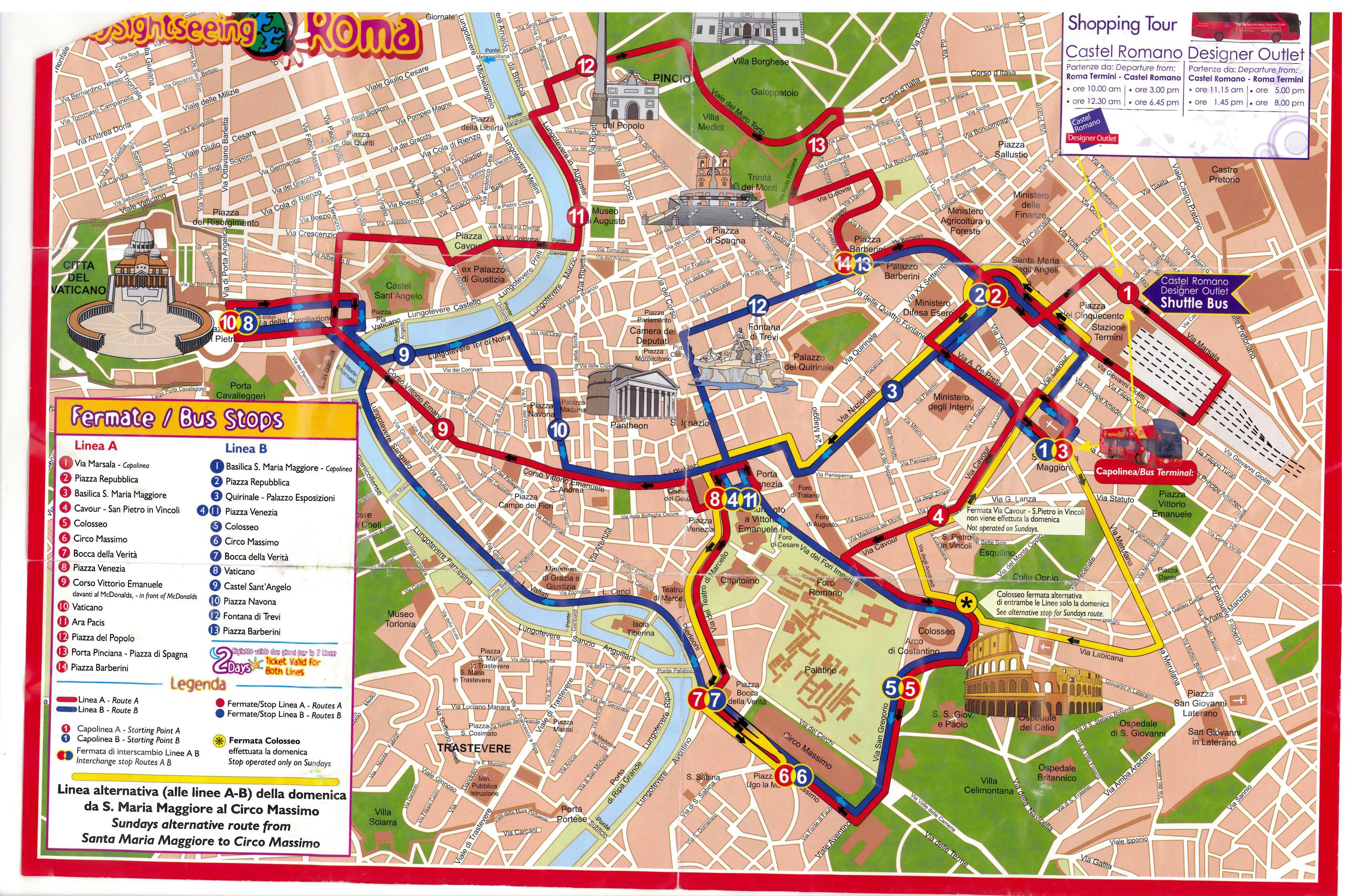 Map of Rome Italy Roma Italia Pinterest Rome italy Rome and