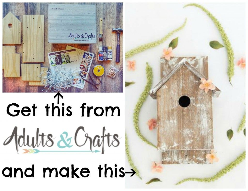21+ Craft subscription box adults information