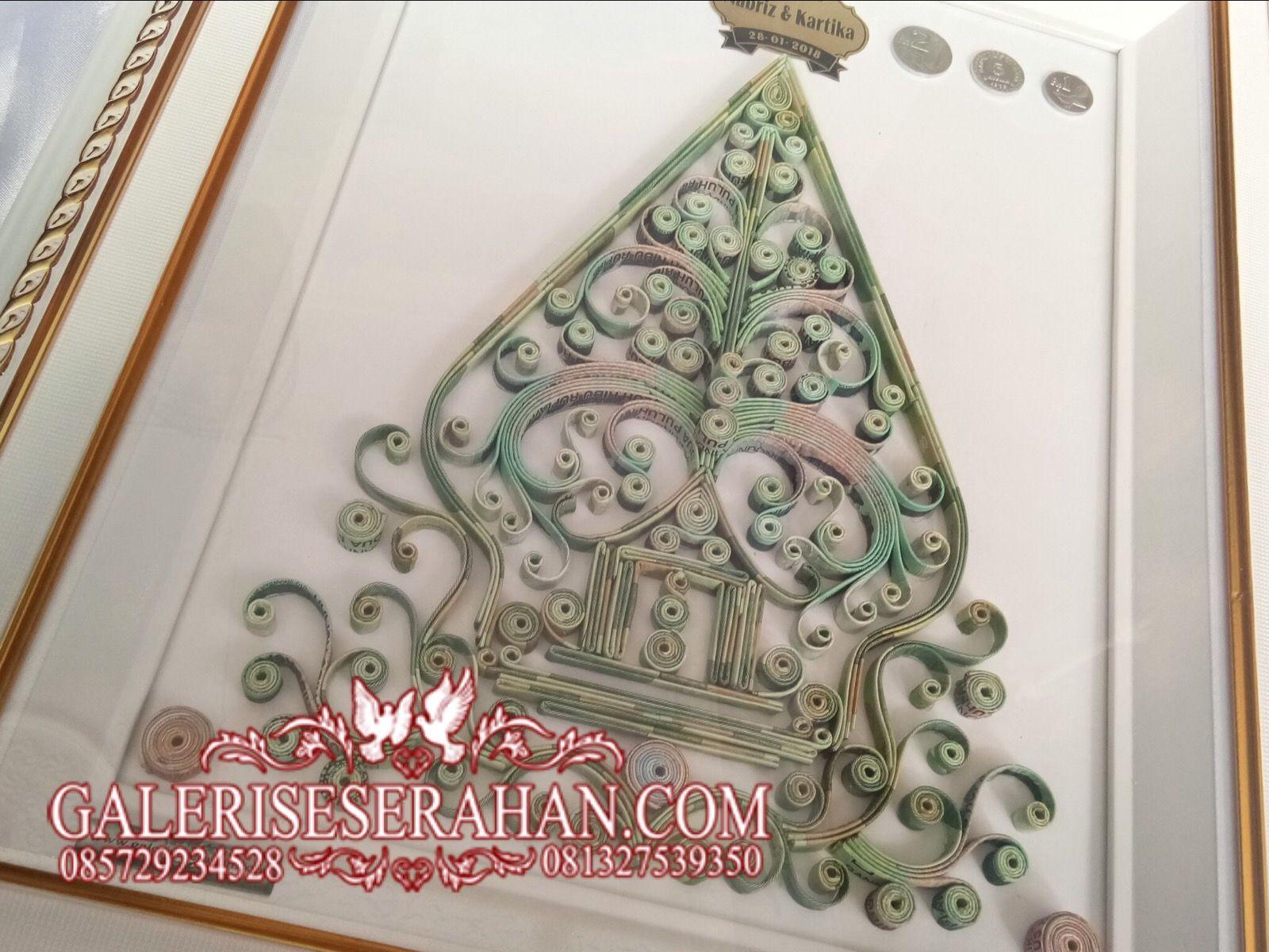 Kaligrafi Gunungan Wayang Nusagates