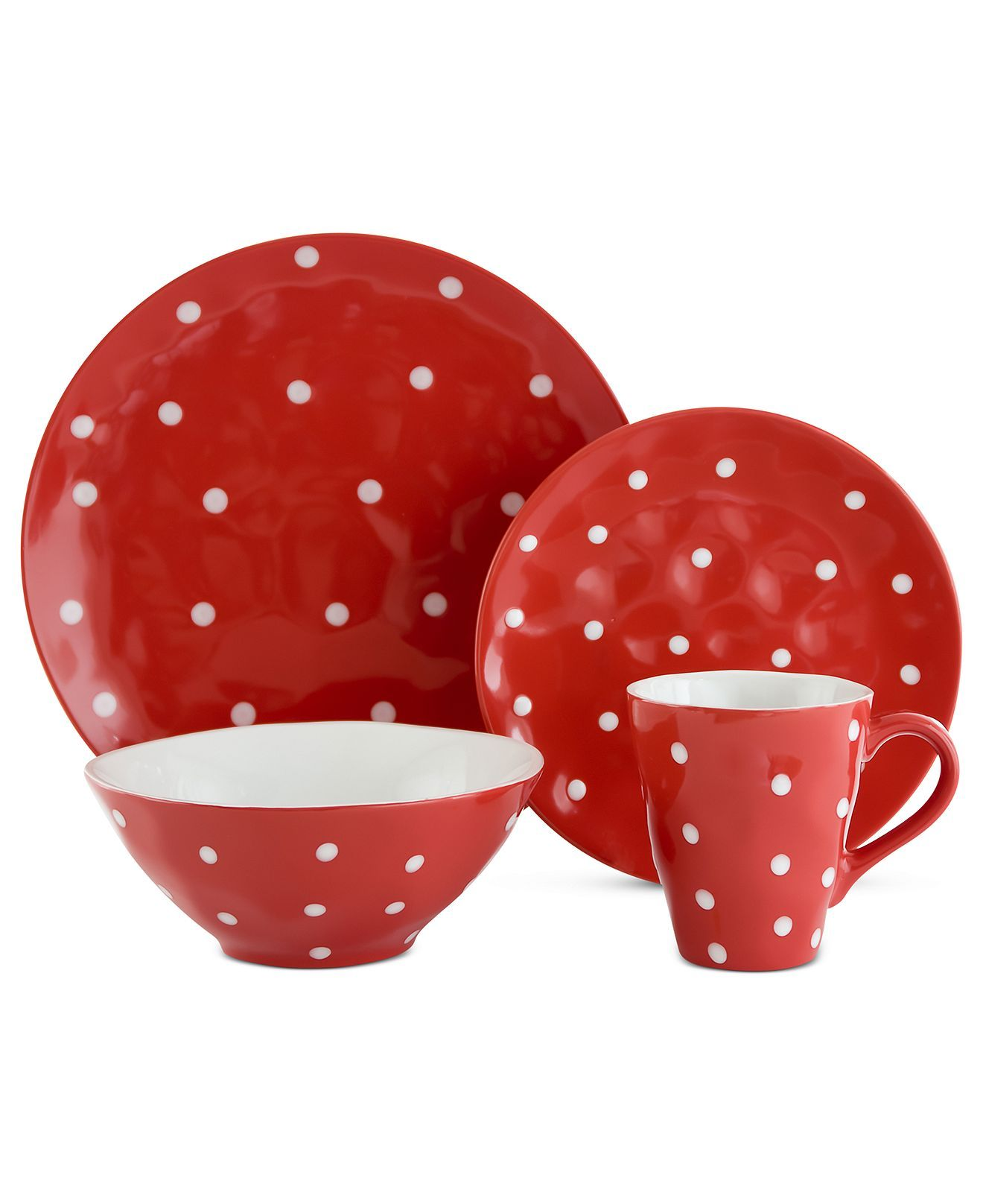 maxwell williams mix and match dinnerware sprinkle 4 piece place setting casual dinnerware. Black Bedroom Furniture Sets. Home Design Ideas