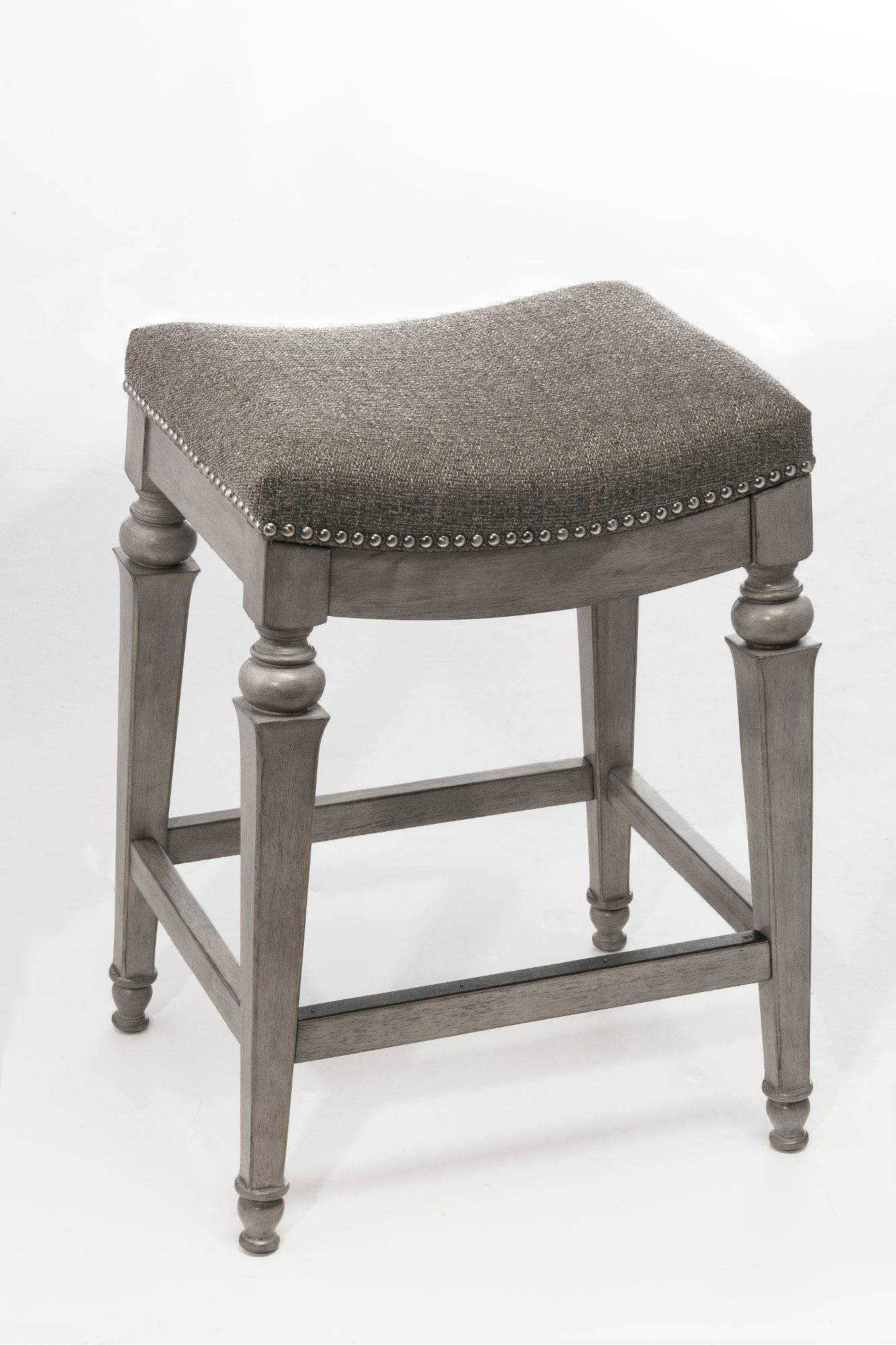 Weathered Gray Counter Height Stool Vetrina In 2020 Hillsdale