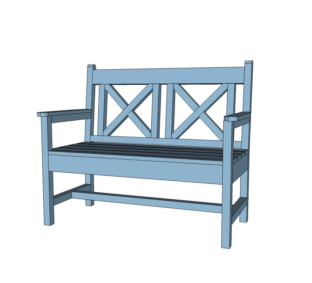 Astounding Ana White Build A Woven Back Bench Free And Easy Diy Beatyapartments Chair Design Images Beatyapartmentscom