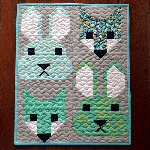 Fancy Friends swap | Mini quilt made for Michmade | kirsten67 | Flickr