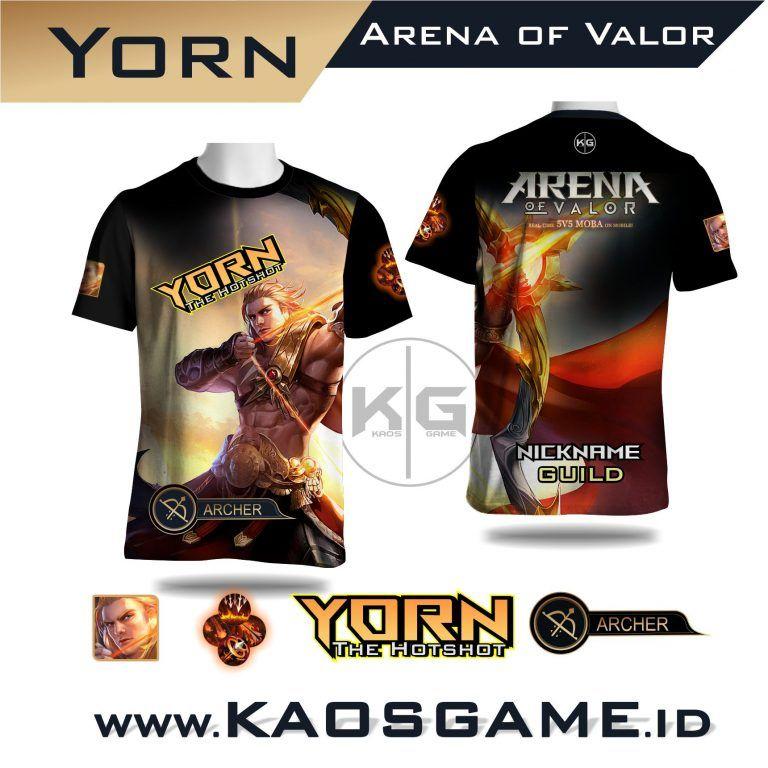 Jual Kaos Zanis Arena Of Valor Aov Sablon Full Print Tahan Lama