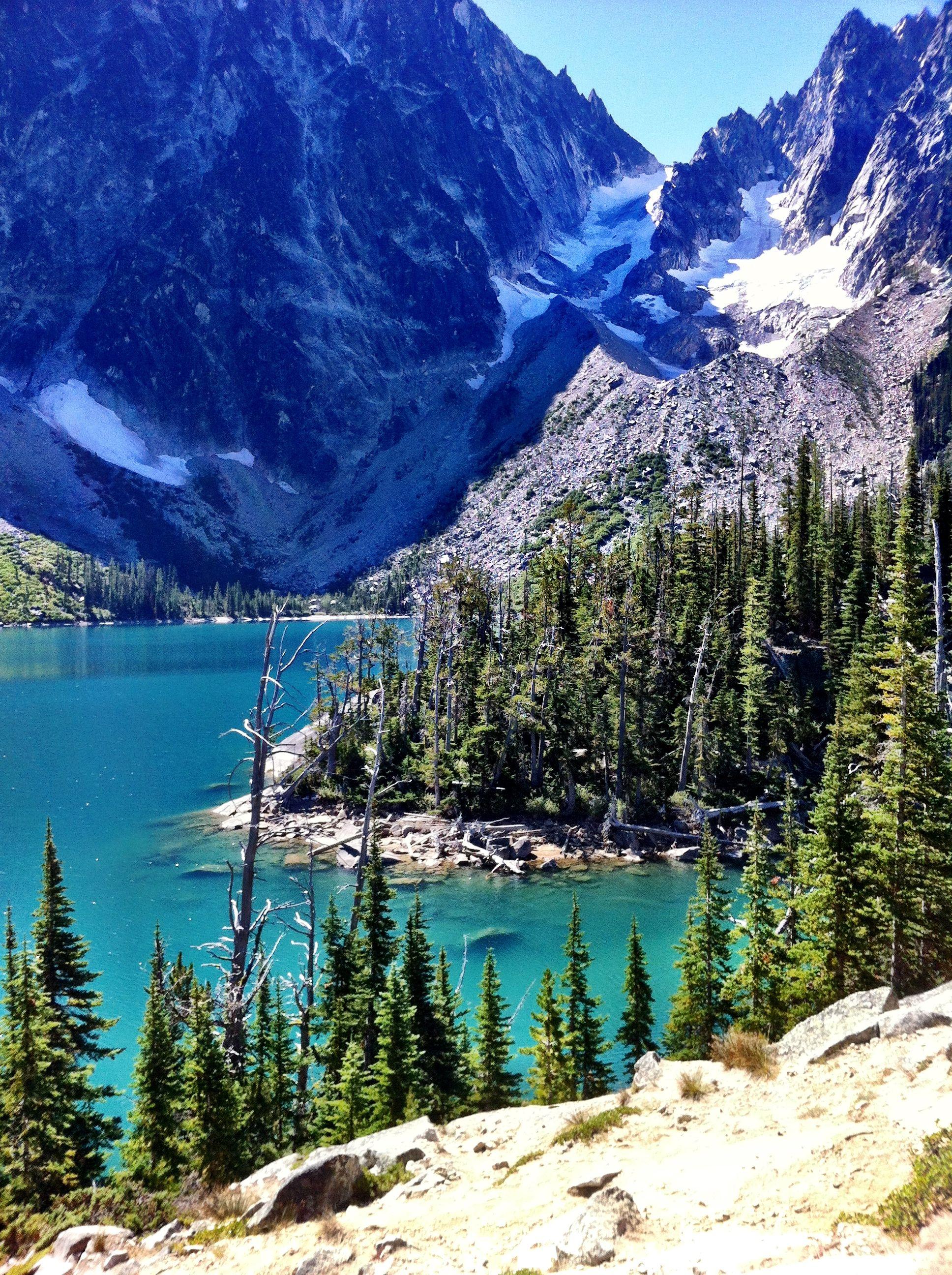 Colchuck Lake, WA Video Trail Review WOW. We LIKE ...