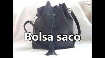 DIY Como Fazer Bucket Bag (Bolsa Saco)  0d858550bd3