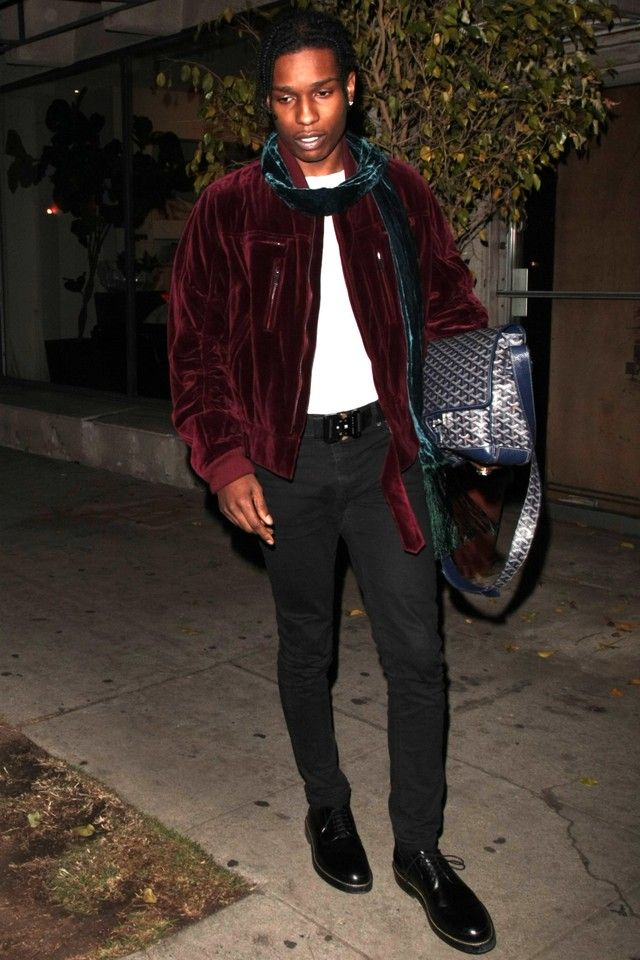 ASAP Rocky - Spotted clubbing at the Nice Guy Club on Looklive