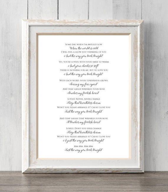 Frank sinatra print the way you look tonight gift song lyrics frank sinatra print the way you look tonight gift song lyrics some day when im awfully low all prints buy 2 get 1 free walls stopboris Images