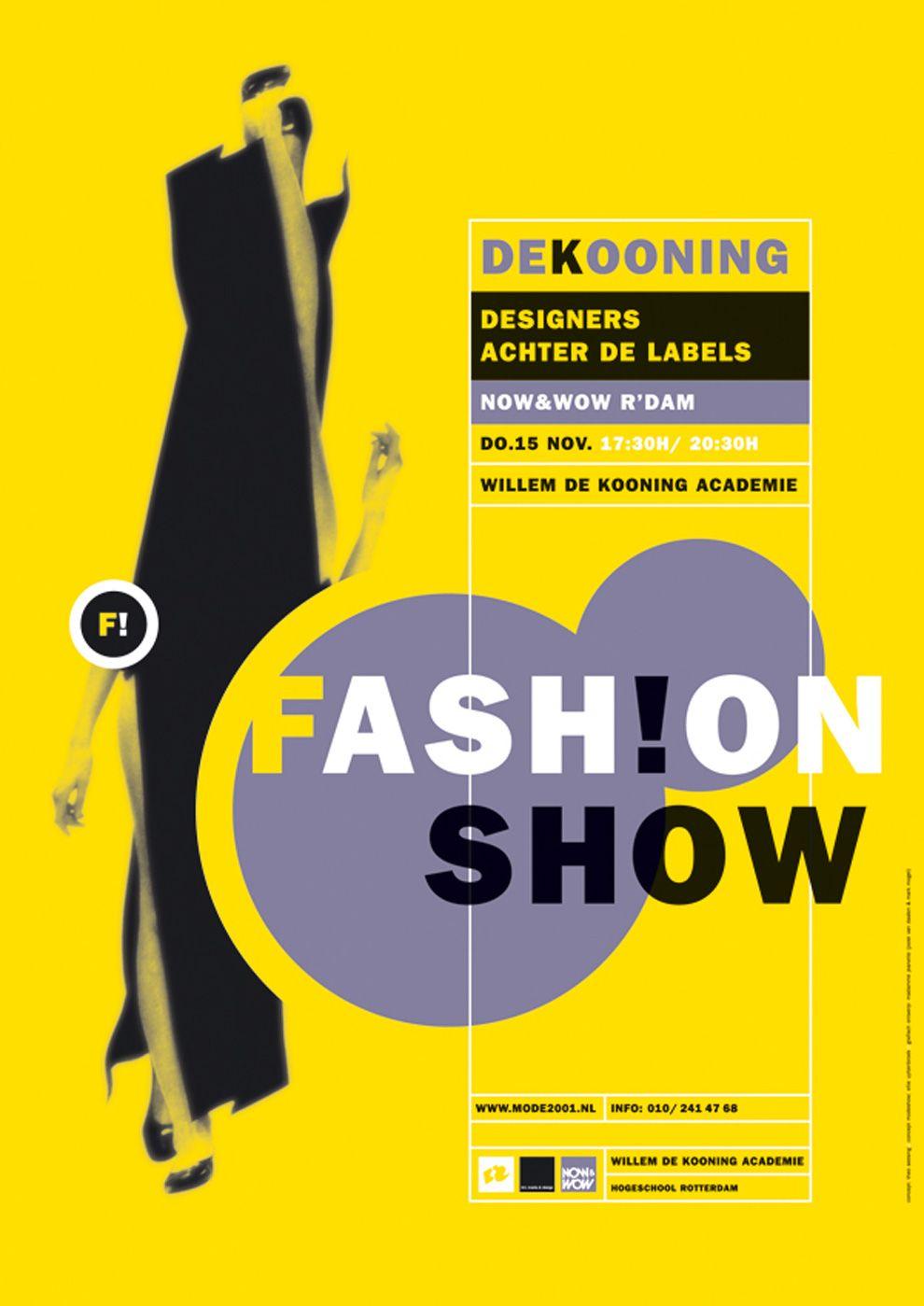 enchilada - typo/graphic posters | Fashion show poster ...