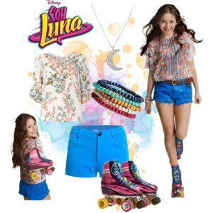 90c96e1e7646 I Love this look of Luna | soy luna y karol | Disfraz soy luna ...