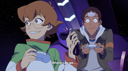 Space Mall where can we.. Oh... / Lance and pidge