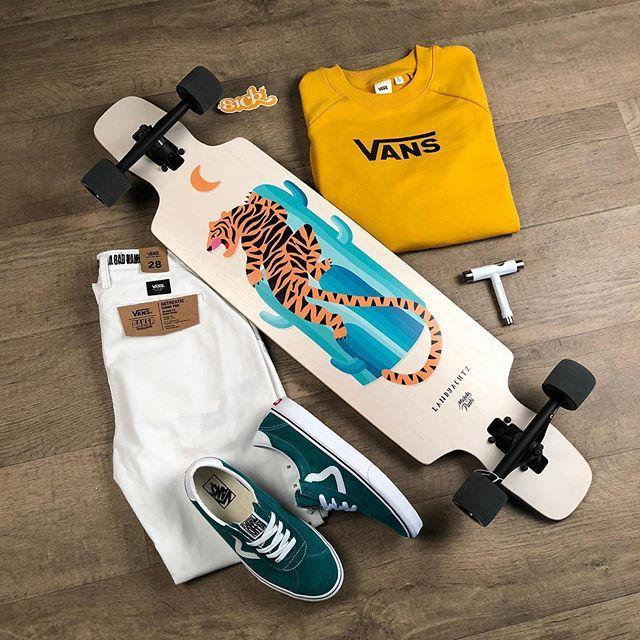 longboard vans