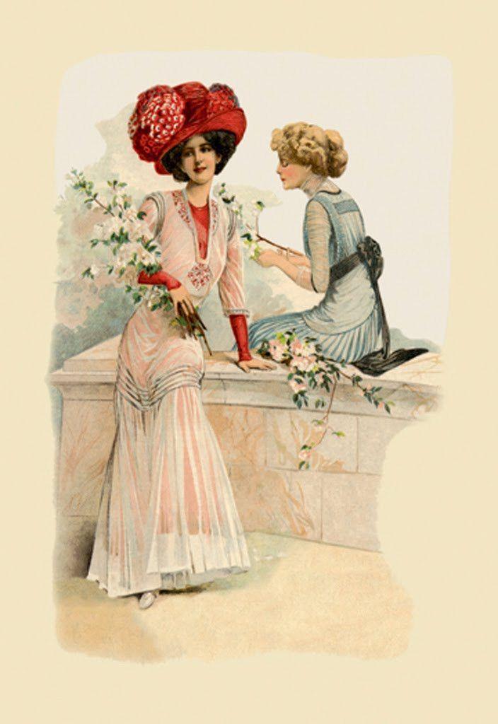 Ladies on the Veranda