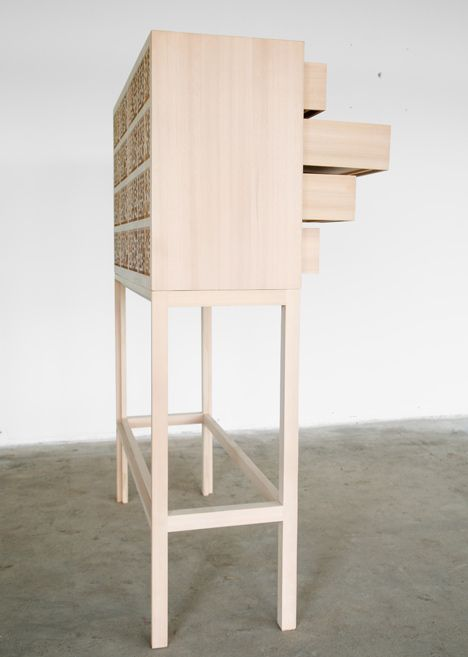 Cabinet of the (Material & Virtual) World by Jon Stam