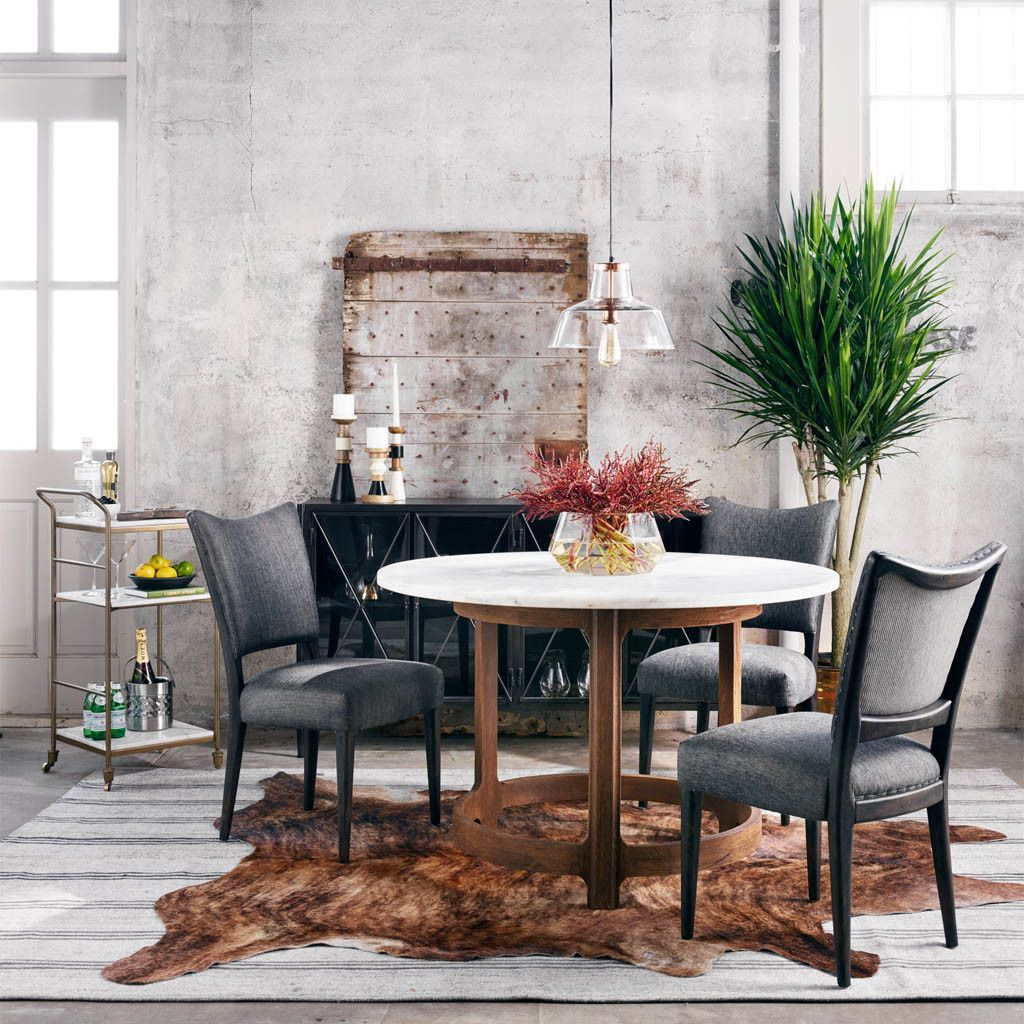 21 Scandinavian Dining Room Designs Decorating Ideas: Lennox Dining Chair - Black