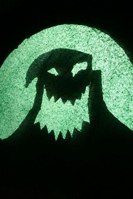 Mr Oogie Boogie Window stencil