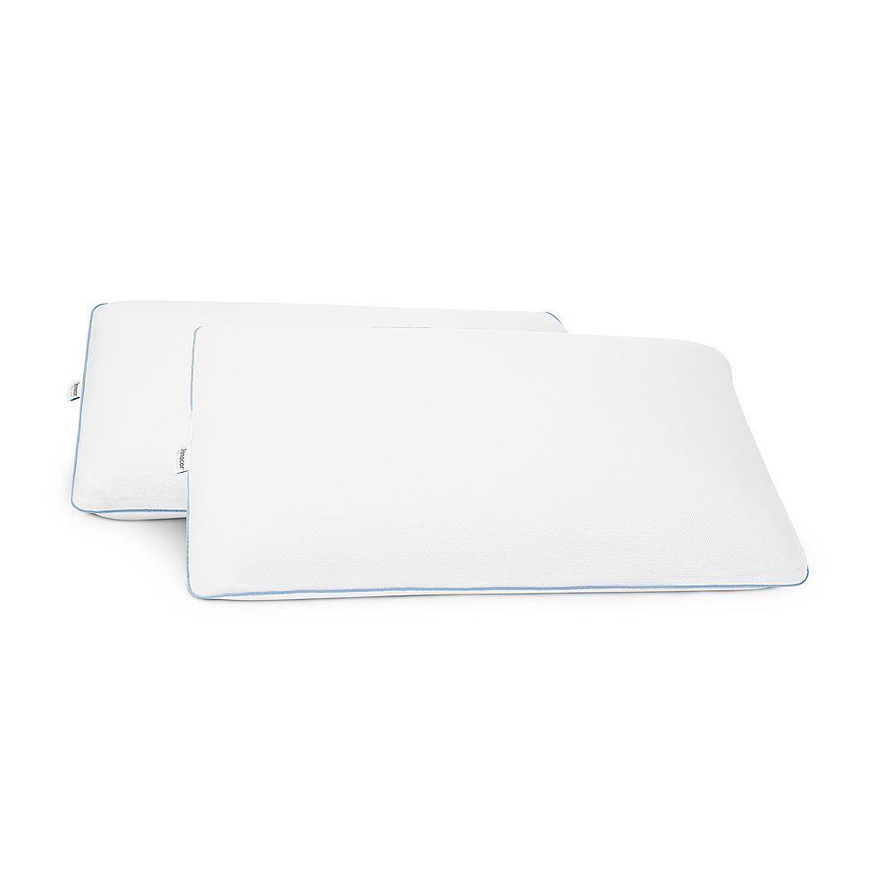 Serta 2 Pack Classic Cool Gel Memory Foam Pillow Foam Pillows