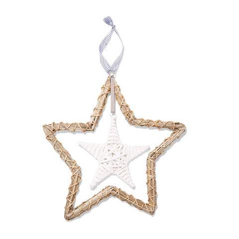 Large Wicker Star