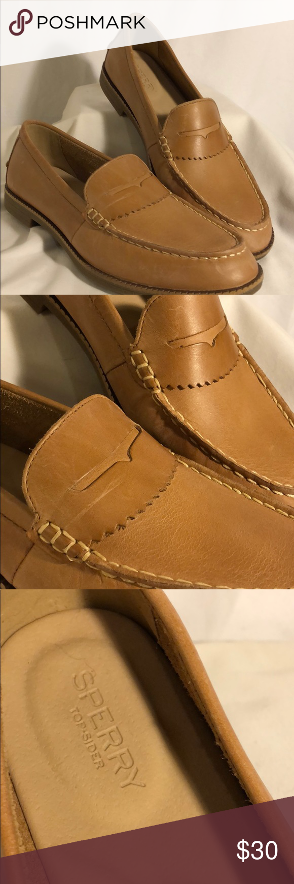 e76780e6df0 Adorable loafer! Women s Sperry Top-Sider Waypoint Penny Loafer - Cognac  This flat is fashioned with penny keeper detailing and a smooth leather  finish that ...