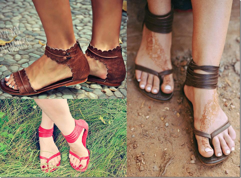 Bali ELF Handmade Leather Summer Sandals Fashion Inspiration