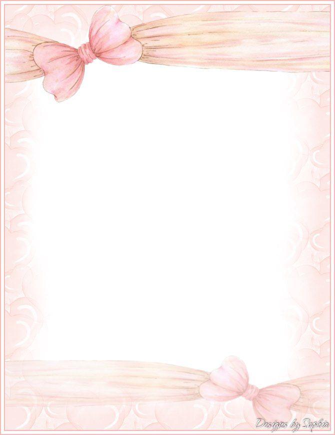 Sophia Designs PenPal Stationery Marcos y fondos decorativos - diary paper printable