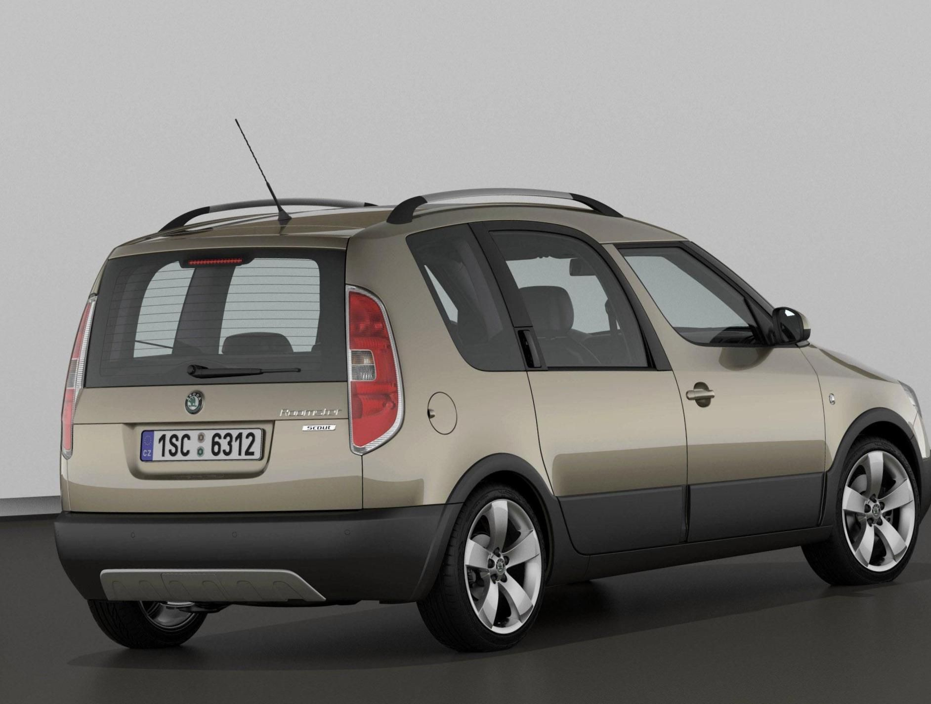 Skoda Roomster Scout approved - http://autotras.com