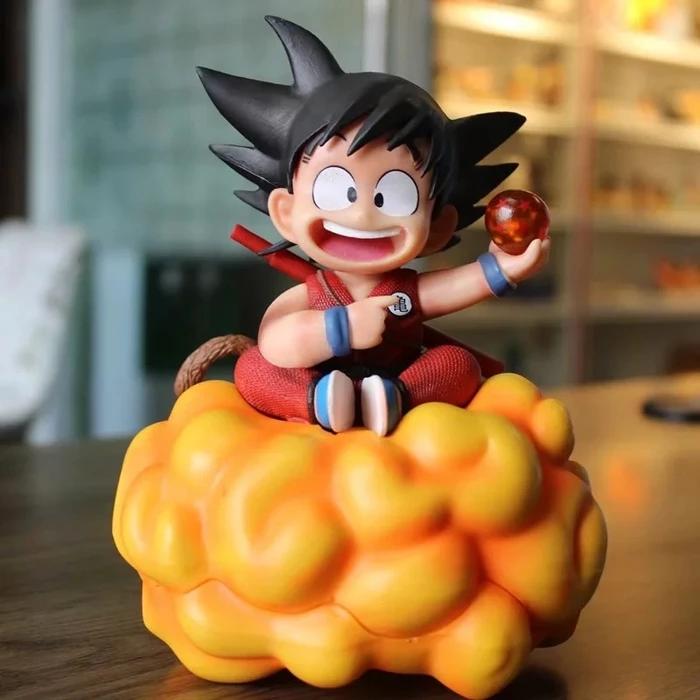 Dbz Happy Kid Goku Holding 1 Dragon Ball Action Figure Kid Goku Anime Dragon Ball Super Dragon Ball Super Goku