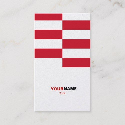 Indonesia Flag Pattern Business Card With Images Printing