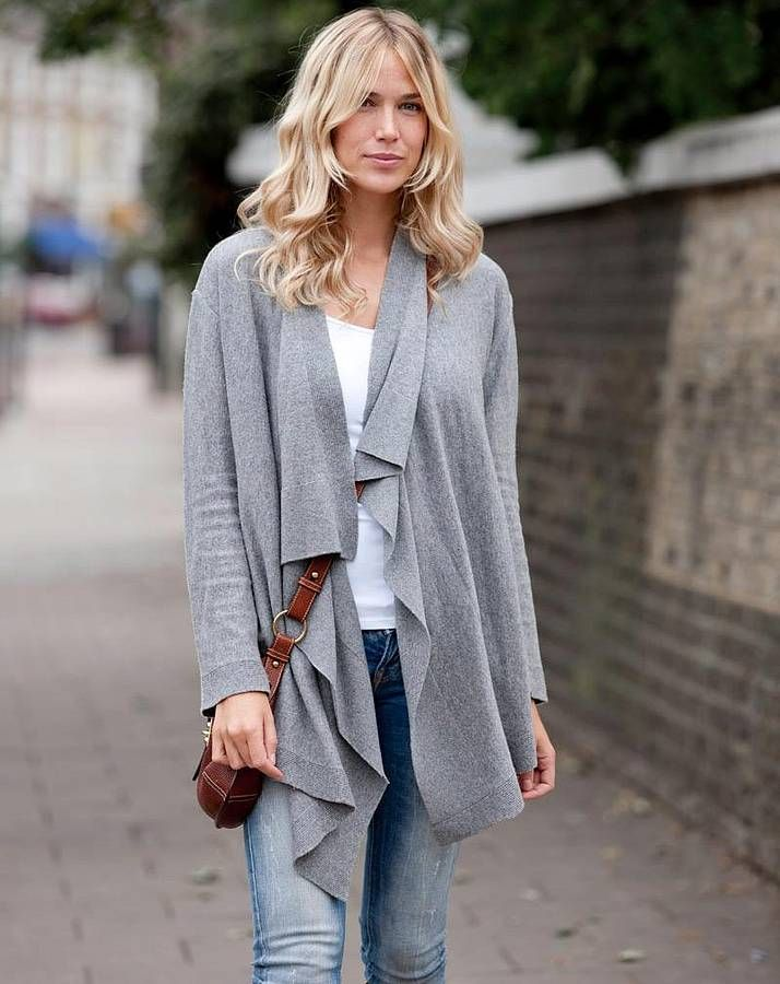 Cardigans that Will Take You from Summer to Fall | Gray, Fall ...