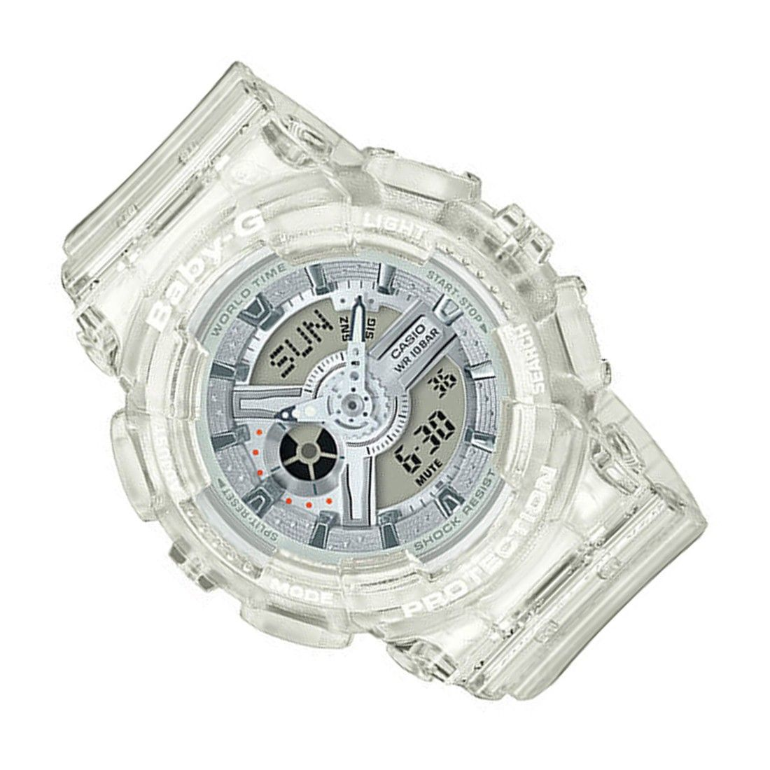 Casio Baby G Sports Watch Ba 110cr 7adr Ba 110cr 7a With Images