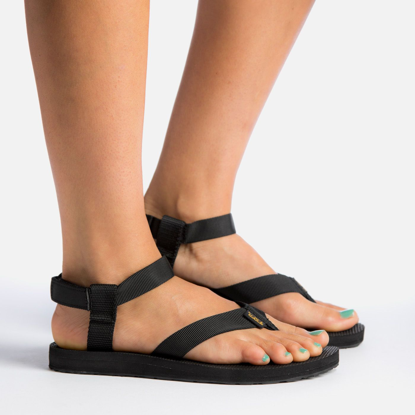 Teva Womens Original Universal Leather Metallic Open Toe Casual Sport Sandals