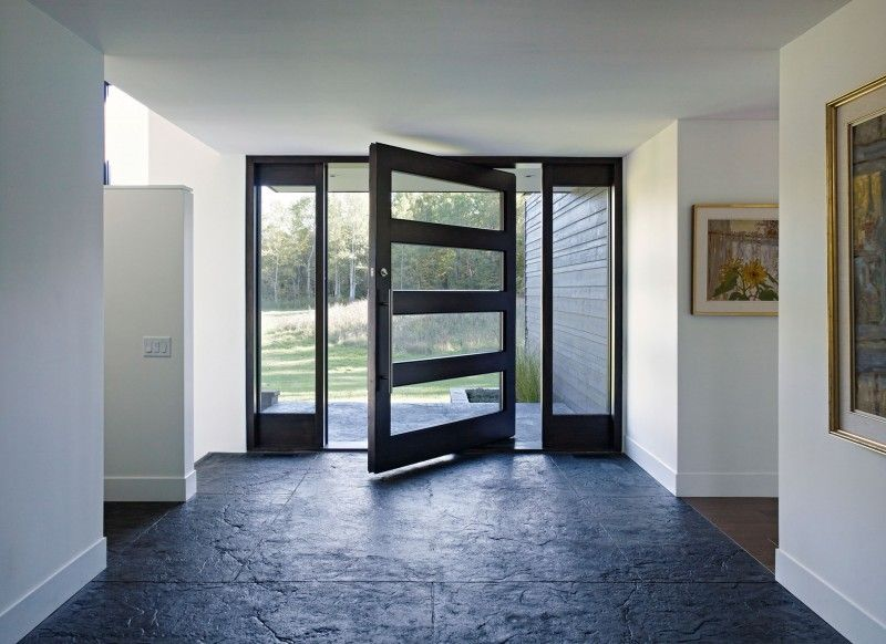 Clearview Residence By Altius Architecture Modern House Design Front Door Design Contemporary Doors