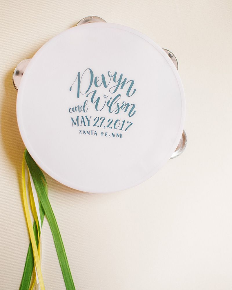 Wedding, Wedding Favors, Tambourine